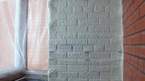 Утепление кирпичной стены на балконе