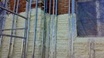 Утепление фасада под кавказский камень