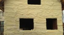 Утепление фасада под кирпичную кладку